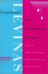 Emmanuel Levinas: Basic Philosophical Writings - Emmanuel Lévinas, Adriaan Theodoor Peperzak, Simon Critchley, Robert Bernasconi