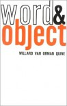 Word and Object (Studies in Communication) - Willard Van Orman Quine