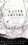 A Love Letter from the Girls Who Feel Everything - Brittainy C. Cherry