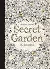 Secret Garden: 20 Postcards - Johanna Basford