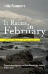 It Rains in February: A Wife's Memoir of Love and Loss - Leila Summers