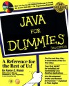 Java for Dummies [With WorldNet Service, Living Desktop, Cool Beans...] - Aaron E. Walsh