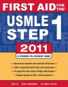 First Aid for the USMLE Step 1: A Student-To-Student Guide - Tao T. Le, Vikas Bhushan