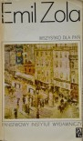 Wszystko dla pań (Les Rougon-Macquart, #11) - Émile Zola,  Zdana Matuszkiewicz,  Halina Suwała