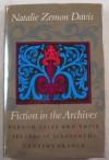 Fiction in the Archives - Natalie Zemon Davis