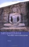 Satipaṭṭhāna: The Direct Path to Realization - Anālayo
