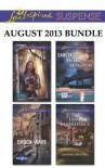 Love Inspired Suspense August 2013 Bundle: Hide and SeekShock WaveDangerous WatersFatal Inheritance - Lynette Eason, Dana Mentink, Sandra Robbins