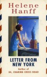 Letter From New York - Helene Hanff