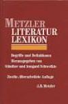 Metzler Lexikon Literatur: Begriffe und Definitionen - Günther Schweikle, Irmgard Schweikle