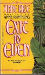 Exit to Eden - Anne (Rice,  Anne) Rampling