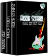 Rising Sun, Half Moon, Rock Stars: D-Strings Set (Six Silver Strings D) - Lisa Gillis