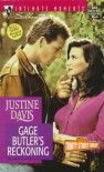 Gage Butler's Reckoning - Justine Davis