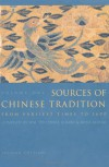 Sources of Chinese Tradition, Vol. 1 - 'William Theodore De Bary',  'Irene Bloom',  'Joseph Adler'