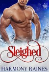Sleighed: BBW Holiday Bear Shifter Paranormal Romance (Christmas Bears Book 1) - Harmony Raines