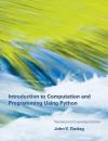 Introduction to Computation and Programming Using Python - John V Guttag
