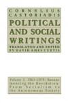 Political and Social Writings: Volume 3, 1961-1979 - Cornelius Castoriadis