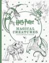 Harry Potter Magical Creatures Coloring Book - Scholastic