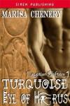Turquoise Eye of Horus - Marisa Chenery