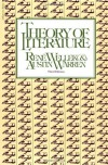 Theory of Literature - René Wellek, Austin Warren