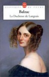 La duchesse de Langeais - Honoré de Balzac