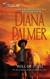 Will of Steel   [SILH DESIRE 2054 WILL OF STEEL] [Mass Market Paperback] - Diana Palmer