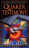 Quaker Testimony - Irene Allen