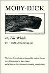Moby Dick or The Whale - Herman Melville,  Barry Moser (Illustrator)