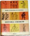 Historia ubiorów - Maria Gutkowska-Rychlewska
