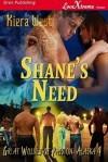 Shane's Need - Kiera West