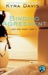 Binding Agreement - Kyra Davis