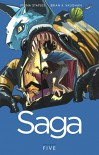 Saga, Vol. 5 (Turtleback School & Library Binding Edition) - Brian K Vaughan