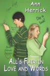 All's Fair in Love and Words - Ann Herrick