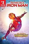 Invincible Iron Man (2016-) #1 - Brian Bendis, Stefano Caselli