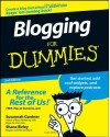 Blogging for Dummies - Susannah Gardner