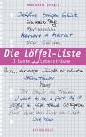 Die Löffel-Liste: 13 bunte Lebensträume - Maryanne Becker, Manu Wirtz