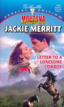Letter To A Lonesome Cowboy - Jackie Merritt