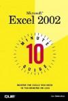 10 Minute Guide to Microsoft Excel 2002 - Joseph W. Habraken, HABRAKEN