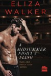 A Midsummer Night's Fling (Much Ado about Love) (Volume 1) - Eliza Walker