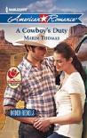 A Cowboy's Duty - Marin Thomas