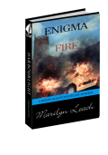 Enigma of Fire (Berdie Elliott Mysteries) - Marilyn Leach