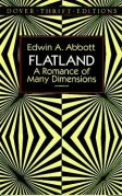 Flatland: A Romance of Many Dimensions - Banesh Hoffmann,Edwin A. Abbott