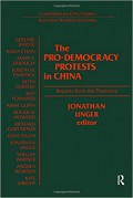 The Pro-democracy Protests in China: Reports from the Provinces (Contemporary China Papers/Australian National University) - Jonathan Unger