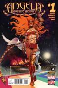ANGELA: ASGARD'S ASSASSIN (2014) #1 - Kieron Gillen,Stephanie Hans,Marguerite Bennett,Phil Jimenez