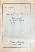 Poe's Best Poems: The Masque of the Red Death - Edgar Allan Poe