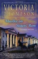 Murder on Sisters' Row - Victoria Thompson