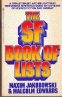 The SF Book of Lists - Jakubowski, Malcolm Edwards, Jakubowski
