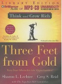 Three Feet from Gold: Turn Your Obstacles Into Opportunities - Sharon L. Lechter, Dan John Miller, Greg S. Reid