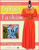 Free Sewing Patterns for Spring Fashion: 8 DIY Sewing Projects - Prime Publishing
