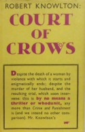 Court of Crows - Robert A. Knowlton
