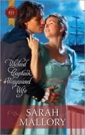 Wicked Captain, Wayward Wife - Sarah Mallory, Melinda Hammond